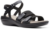 Clarks Alexis Shine Women's Leather Sandals