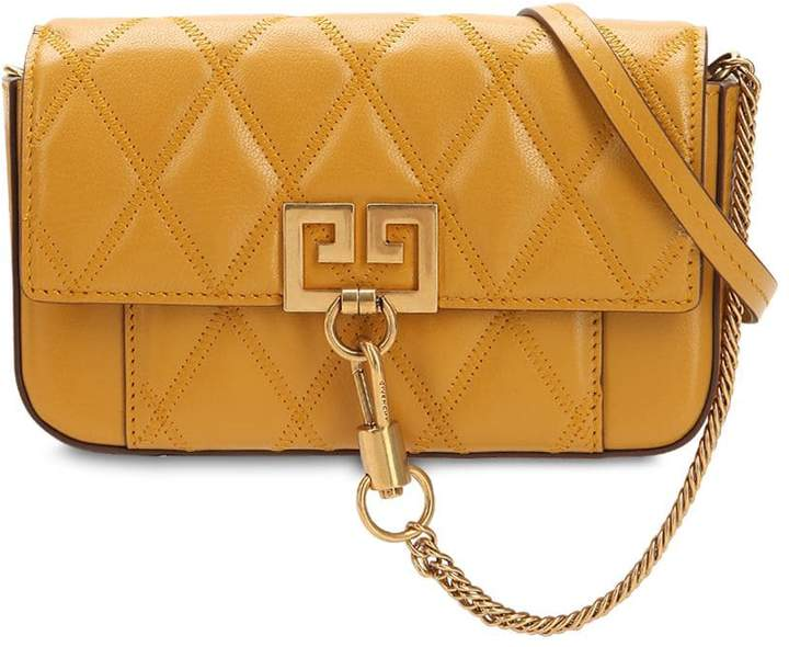 Givenchy Mini Pocket Quilted Leather Bag