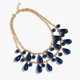 J.Crew Tear drop chain necklace
