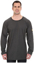 Carhartt Big & Tall Force Cotton Delmont Sleeve Graphic T-Shirt