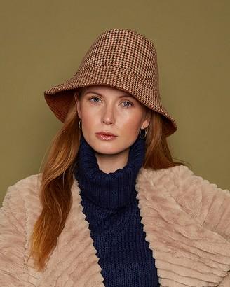 Eugenia Kim Sara Plaid Bucket Hat