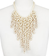 Carolee Icing on the Cake Faux-Pearl Statement Necklace