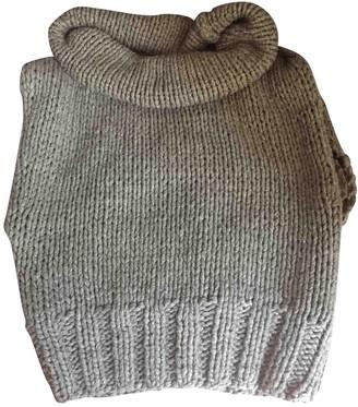 Fendi Khaki Cashmere Knitwear for Women