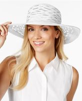 Nine West Semi-Sheer Sun Hat