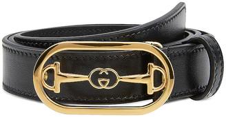 Gucci Leather Belt in Black | FWRD