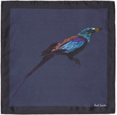Paul Smith Navy Mainline Bird Pocket Square