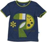 Kickee Pants Piece Print Tee (Toddler/Kid) - Fish & Boat-8
