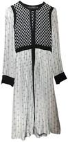 Isabel Marant White / Black Silk Dresses