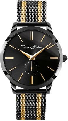 Thomas Sabo Men's Analogue Quartz Watch with Stainless Steel Strap WA0281-284-203-42