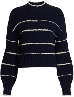 Proenza Schouler White Label Irregular Stripe Sweater