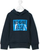 Diesel printed hoodie - kids - Cotton - 8 yrs