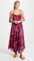 Diane von Furstenberg Cinched Waist Maxi Dress