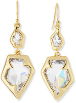 Alexis Bittar Feathered Parrot Pendant Earrings