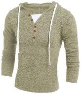 Kinghard® Kinghard Men's Autumn Winter Fashion Hooded Sweater Tops (M, )