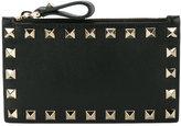 Valentino Garavani Valentino Rockstud coin purse - women - Leather - One Size