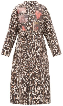Raf Simons Animalier Leopard-print Technical Coat - Leopard