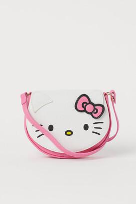 H&M Design-front Shoulder Bag - White