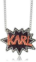 Karl Lagerfeld K/Pop Glitter Necklace