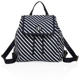 Tory Burch Scout Small Striped Backpack