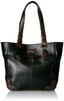 Tignanello Western Vintage Leather Tote Bag