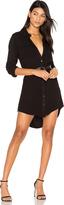 Michael Lauren Charlie Button Up Shirt Dress