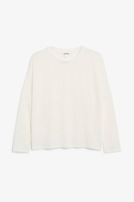 Monki Super-soft flowy top