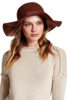 Topshop Floppy Wool Hat