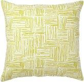 Pehr Designs Mustard Hatch Pillow - Mustard