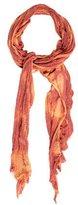 Raquel Allegra Bicolor Tie-Dye Scarf