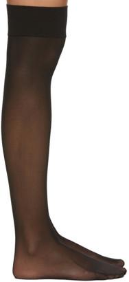 Wolford Black Individual 10 Knee-High Stockings