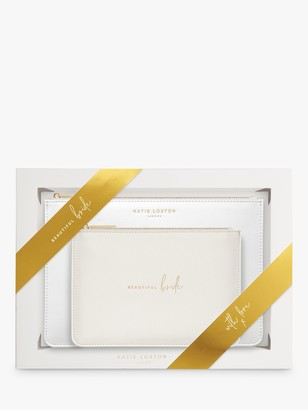 Katie Loxton Bride Pouch Bags, Set of 2