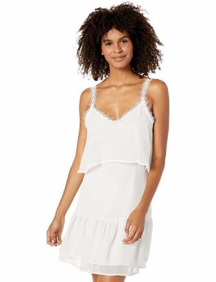 BB Dakota Junior's Without a dot Printed Chiffon Dress