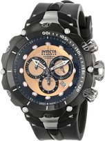 Invicta Men's 11706 Venom Analog Display Swiss Quartz Black Watch