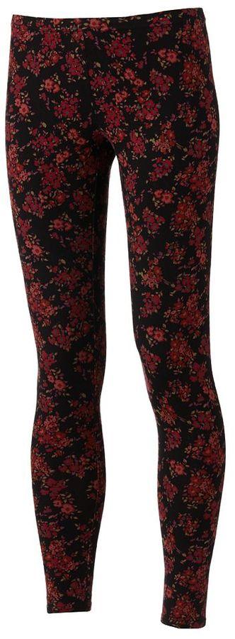 Lauren Conrad floral leggings