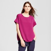 Mossimo Women's Short Sleeve Top with Seaming Detail