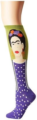 Socksmith Frida Knee High (Fern) Women's Knee High Socks Shoes