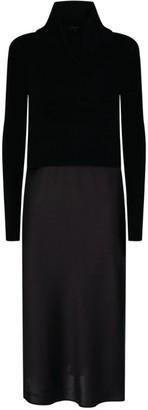 AllSaints Tierny Rollneck Dress