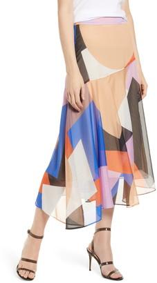 Rebecca Minkoff Monica Midi Skirt