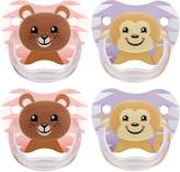 Dr Browns Dr. Brown's Dr Brown's Classic Pacifier, 6-12 Months, Animal Faces , 4 Count