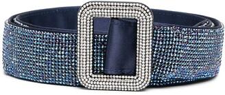 Benedetta Bruzziches Crystal-Embellished Belt