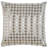 Diamonds Silk Throw Pillow Sivaana