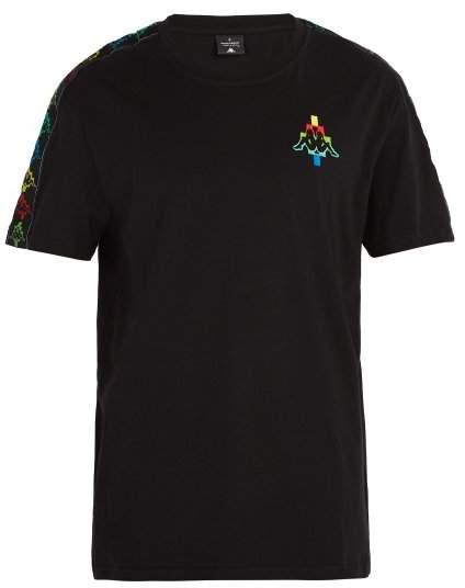 Marcelo Burlon County of Milan X Kappa Cotton Blend T Shirt - Mens - Multi