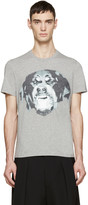 Givenchy Grey Rottweiler T-Shirt