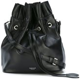 Rochas bucket drawstring shoulder bag - women - Lamb Skin - One Size