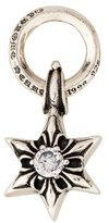 Chrome Hearts Crystal Five Point Star Pendant