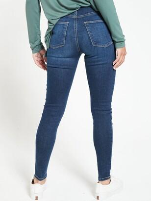 Very Short Florence High Rise Skinny Jeans - Indigo