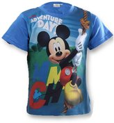 Disney Boys Mickey Mouse Print Top T-Shirt Age 3 to