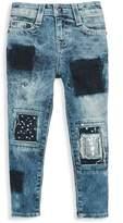 True Religion Little Girl's & Girl's Patch Jeans