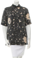 Marni Printed Short Sleeve Top