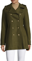 Via Spiga Double Breasted Military Coat